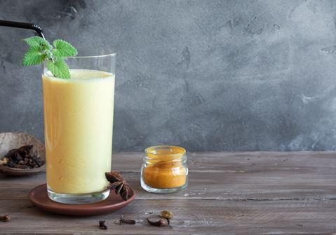 Mango Milk with Turmeric
