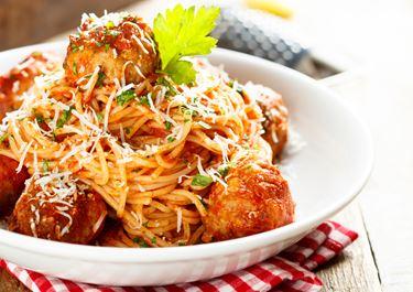 Spaghetti Meatballs in Tomato Sauce