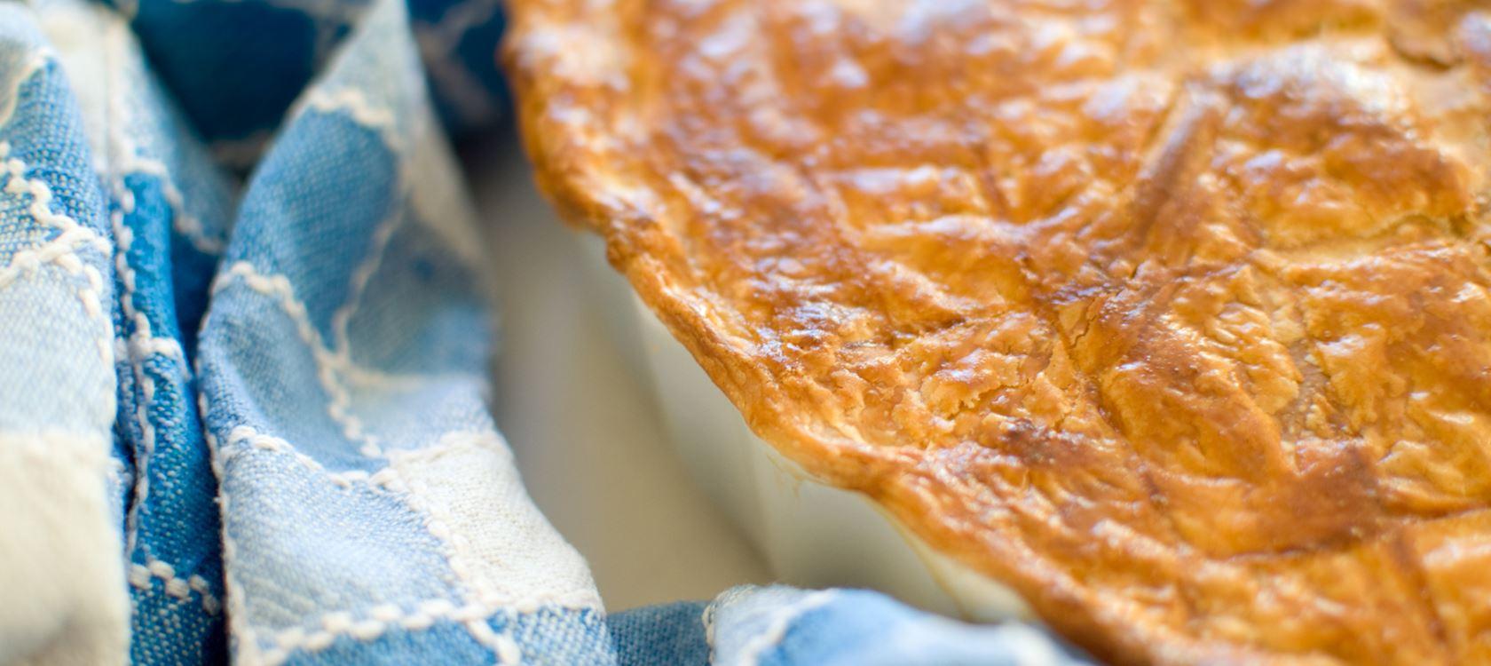 Roast Chicken and Leek Pie
