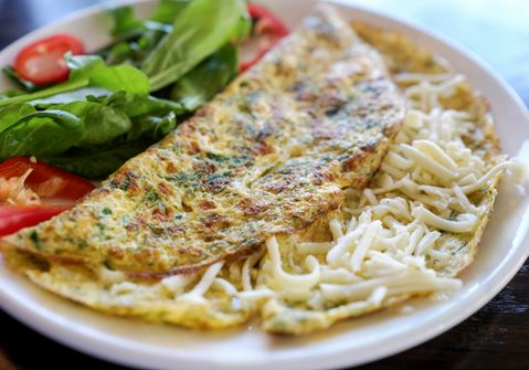 Easy Cheesy Omelette