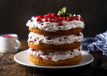 Luxurious Cream Cake