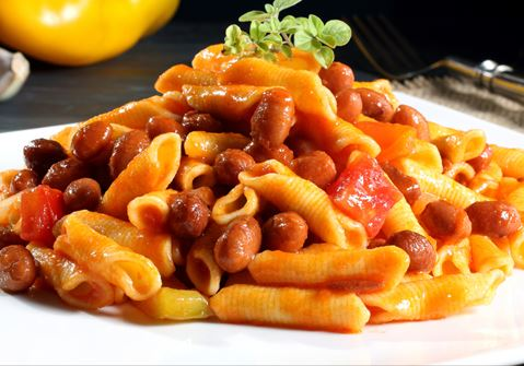 Vegetable Stew with Pasta and Skyr Topping
