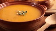 Roasted Spicy Pumpkin Soup