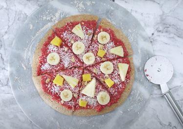 Breakfast Pizza Pancake