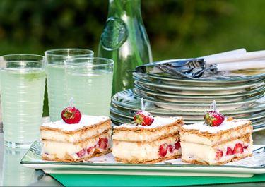 Strawberry Pastry