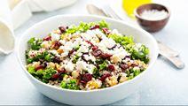 Cheesy Kale Bowl