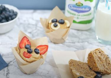 Brain Boosting Banana Muffins
