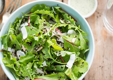 Salad with Coconut Dressing