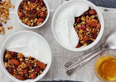 Muesli Pudding with Fruit