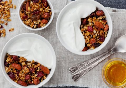 Muesli Pudding with Fruit