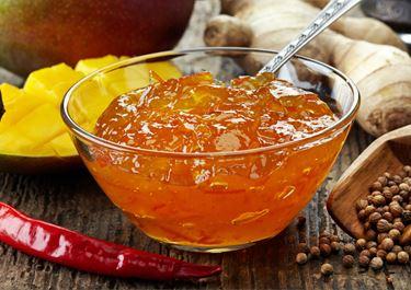 Wheat Porridge and Spicy Chutney