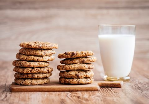 The Best Ever Cookies (and Milk)