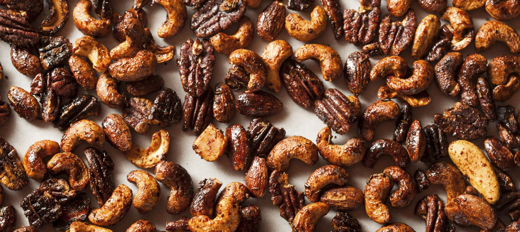 Caramelised Nuts