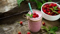 Quick Raspberry Smoothie