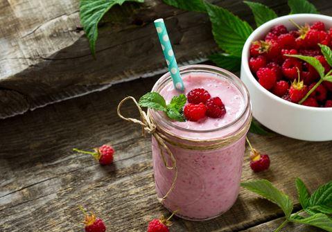 Quick Raspberry Smoothie