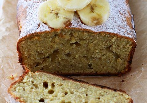 Banana and Walnut Loaf Cake