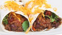Beef Chilli Enchiladas