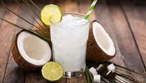 Lime and coconut milk