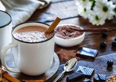 Hot Muscovado Chocolate