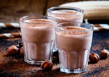 Banana and Hazelnut Smoothie