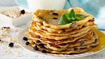 Saffron Pancake