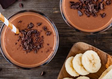 Chocolate Drink with Banana