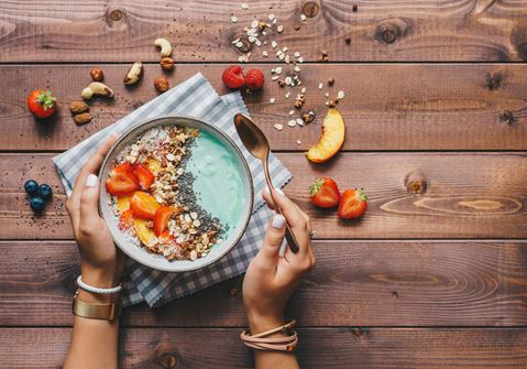 Smoothie Bowl with Dates