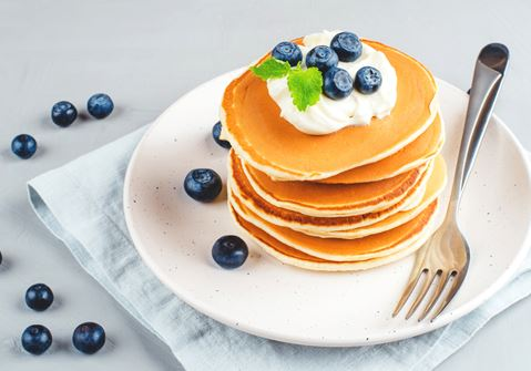 Thick Fruity Pancakes