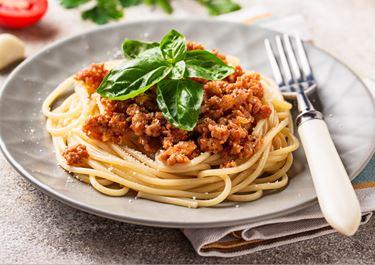 Speedy Spaghetti Bolognese