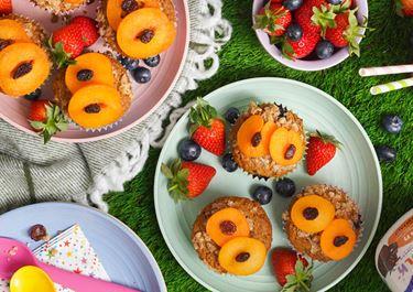 Gruffalo Crumble Muffins