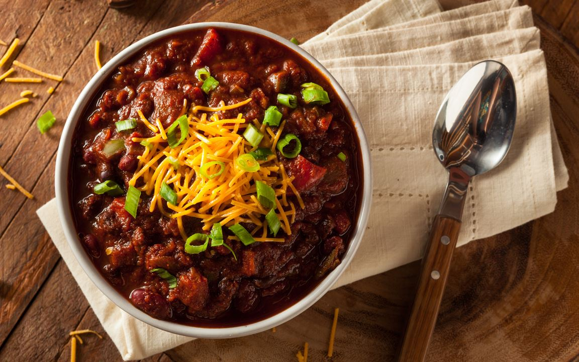 Cheesy Chilli Con Carne