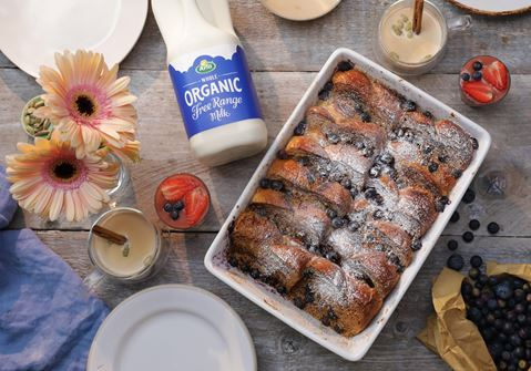 Blueberry Cardamom French Toast Bake