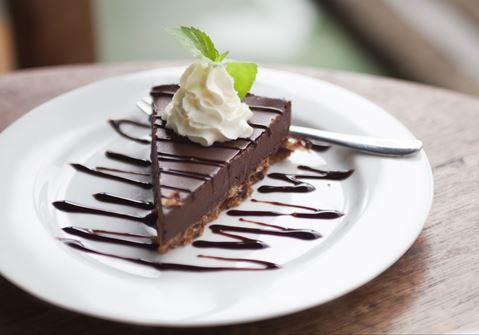 Baileys and chocolate cheesecake