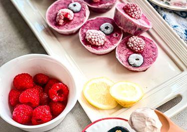 Berry Frozen Yoghurt Granola Bites