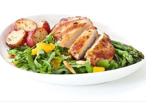Potato and Chicken Salad