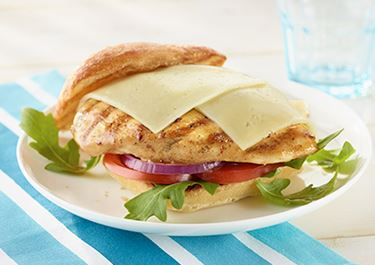 Grilled Chicken Havarti Sandwich