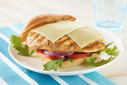 Grilled Chicken Havarti Sandwich