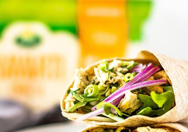 Chicken Salad Wraps With Havarti