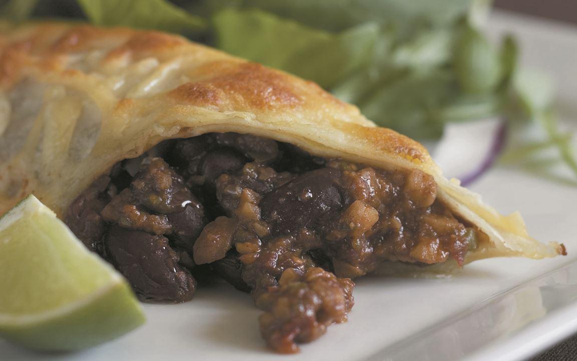 Enchiladas with Mole Poblano