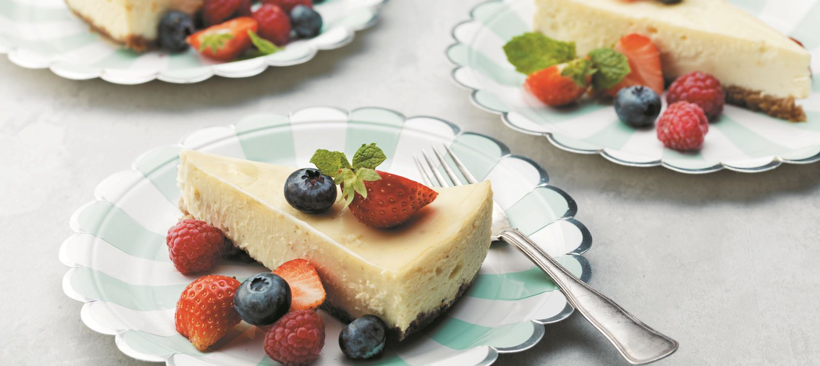 White Chocolate Cheesecake