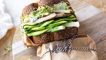 Green Goddess Turkey Havarti Sandwich
