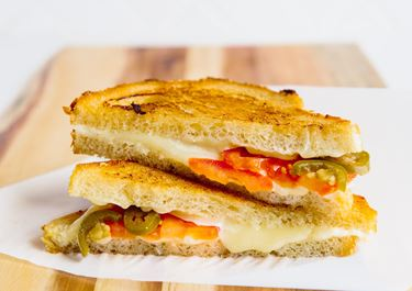 Fontina and Jalapeño Grilled Cheese