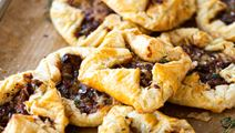 Gouda Puff Pastry with Bacon, Fig & Thyme