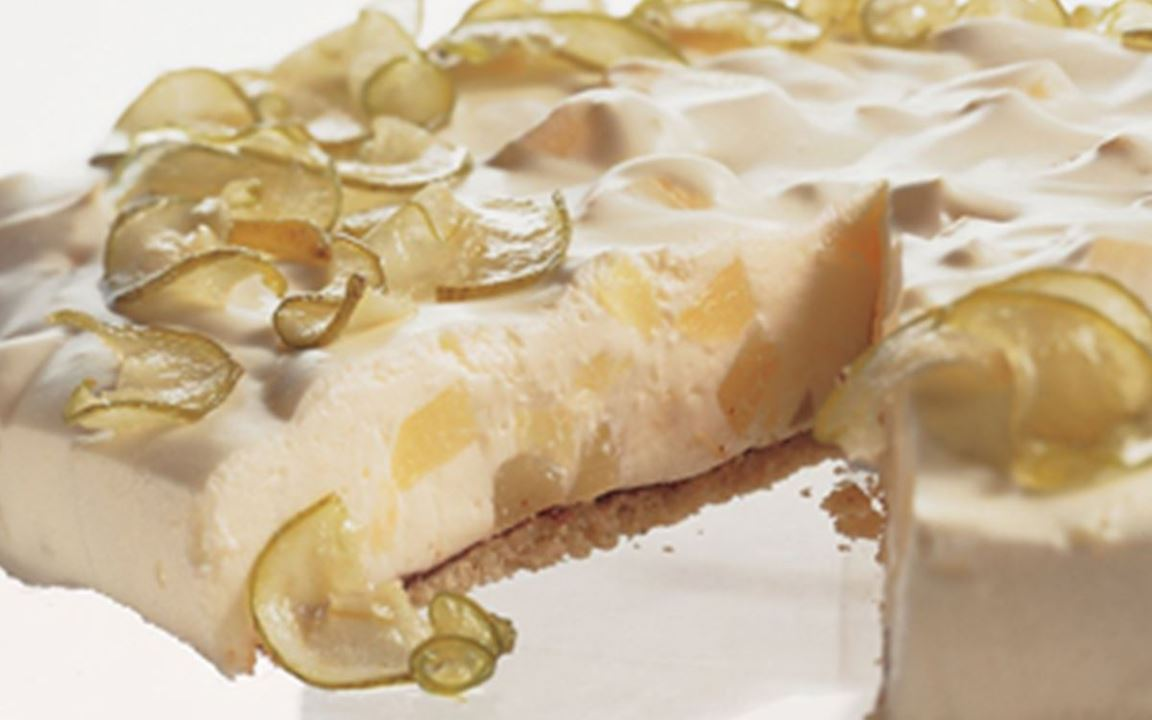 Pear Cheesecake