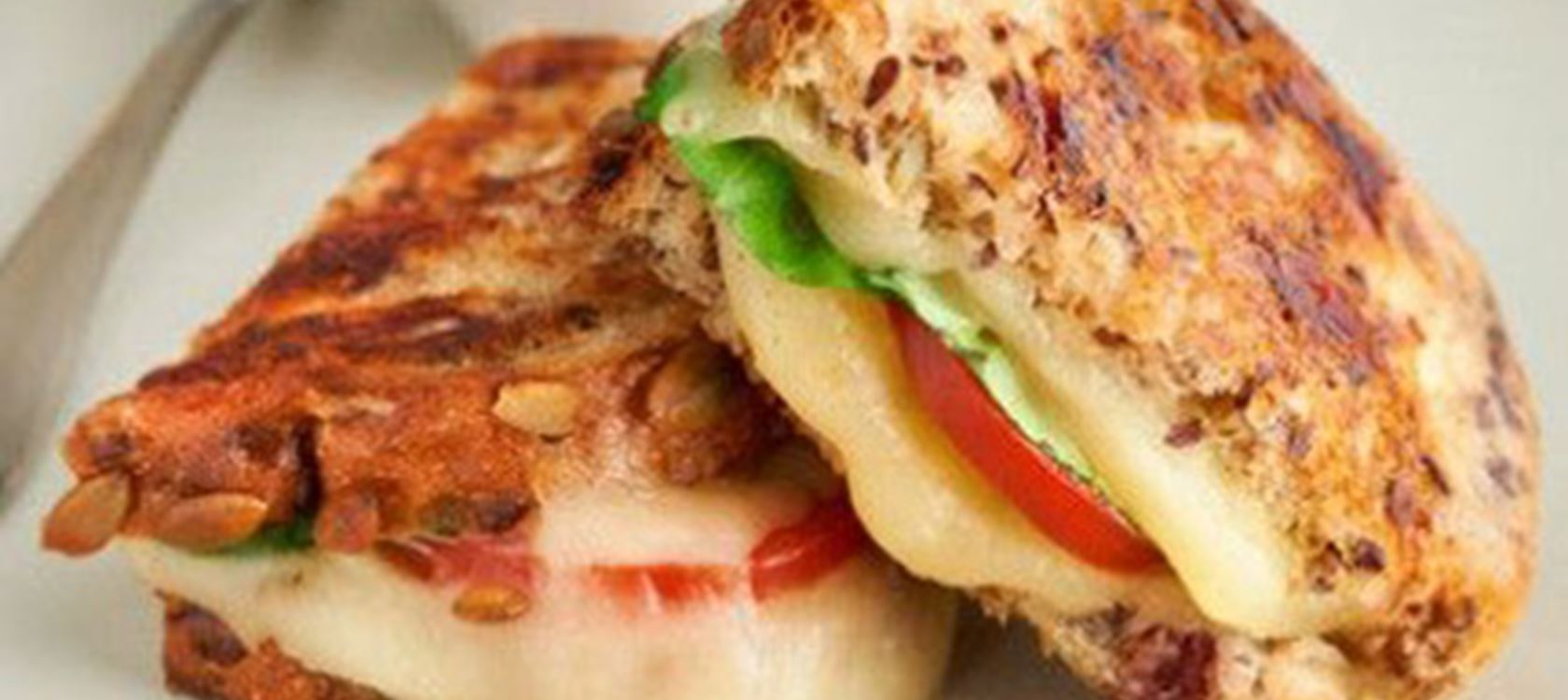 Grilled Havarti & Tomato Sandwiches on Cranberry Bread