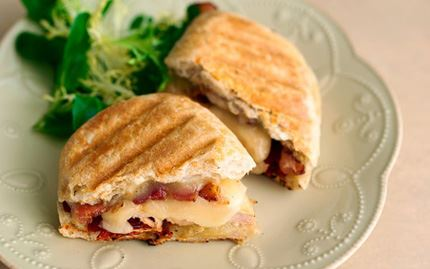 Chicken Panini with Havarti, Tomatoes and Rosemary