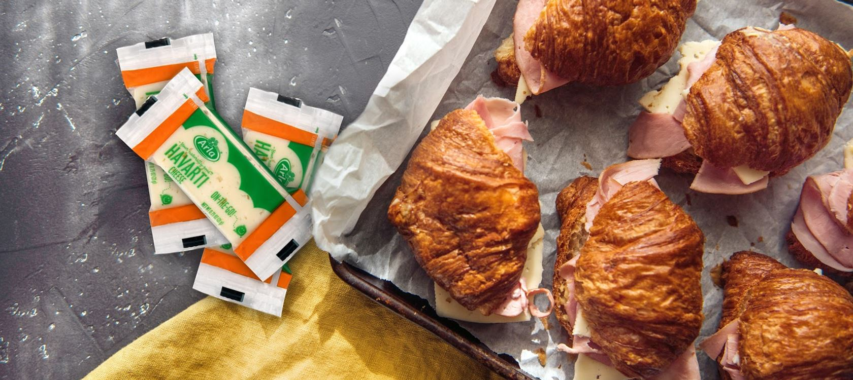 Ham and Havarti Cheese Croissant