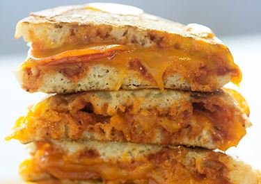 English Muffin Grilled Cheese Pizzas