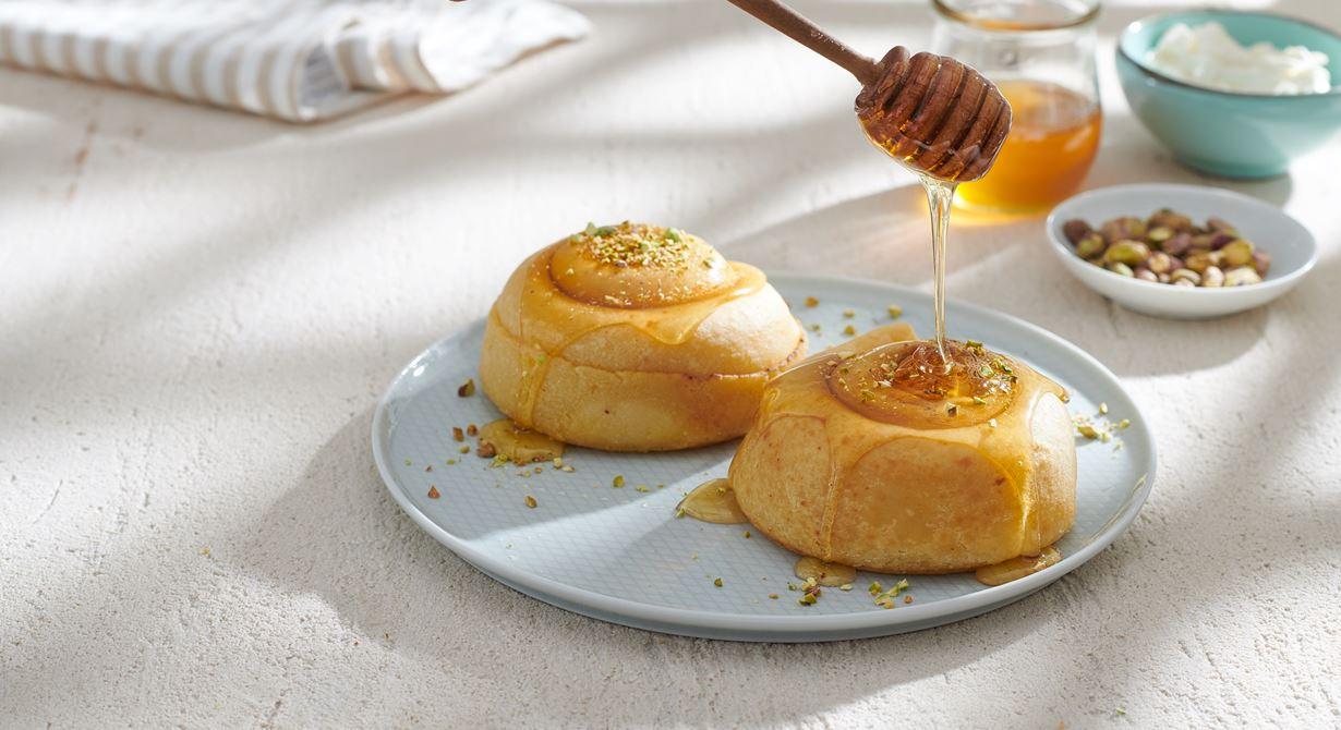 فطير بالجبنة والعسل