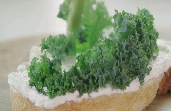 "The ""Green"" Sandwich"